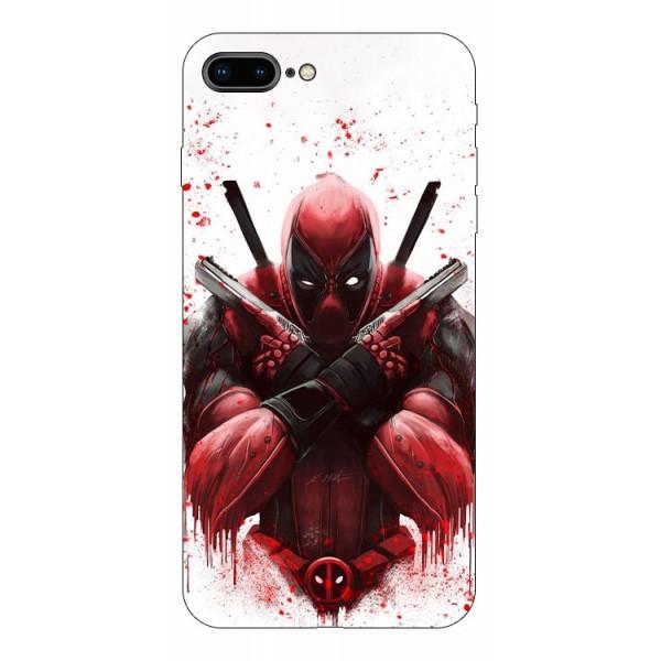 Husa Silicon Soft Upzz Print Compatibila Cu Iphone 7 Plus/ Iphone 8 Plus Model Antihero imagine itelmobile.ro 2021