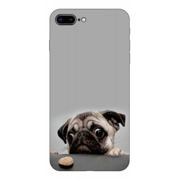 Husa Silicon Soft Upzz Print Compatibila Cu Iphone 7 Plus/ Iphone 8 Plus Model Dog imagine itelmobile.ro 2021