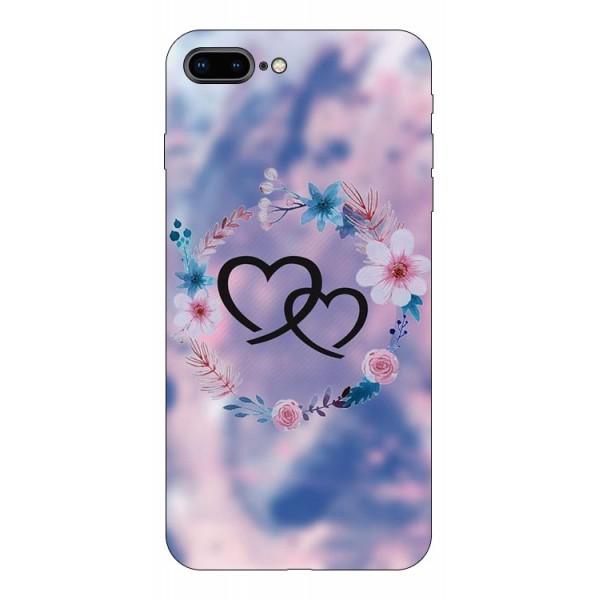 Husa Silicon Soft Upzz Print Compatibila Cu Iphone 7 Plus/ Iphone 8 Plus Model Love imagine itelmobile.ro 2021