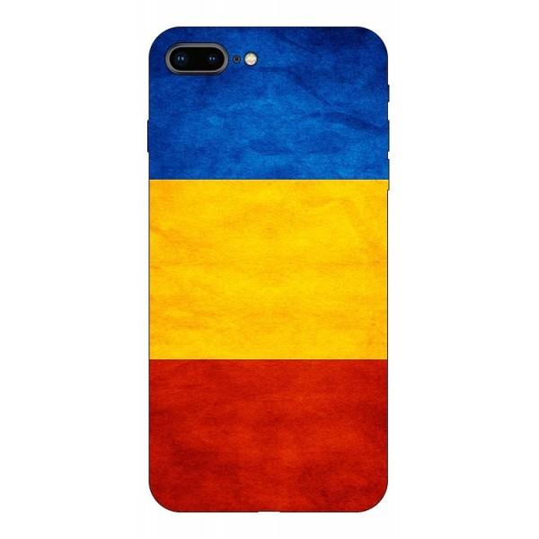 Husa Silicon Soft Upzz Print Compatibila Cu Iphone 7 Plus/ Iphone 8 Plus Model Tricolor imagine itelmobile.ro 2021