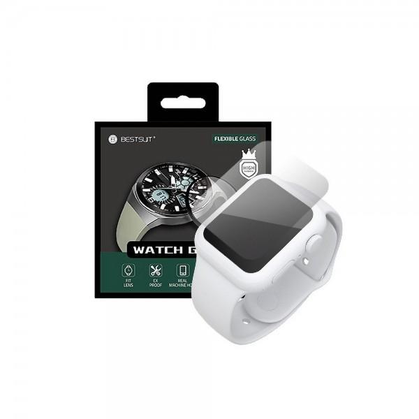 Folie Nano Glass Upzz Best Apple Watch Seria 4 / 5, 44mm Transparenta imagine itelmobile.ro 2021