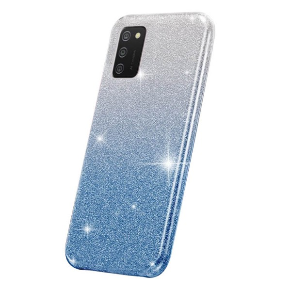 Husa Spate Upzz Shiny Compatibila Cu Samsung Galaxy A02s, Albastru imagine itelmobile.ro 2021