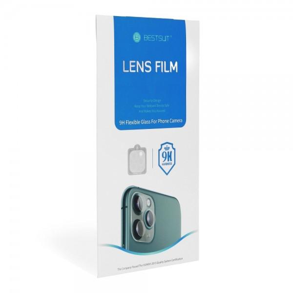 Folie Camera BestSuit Nano Flexible Compatibila Cu iPhone 12, Transparenta imagine itelmobile.ro 2021