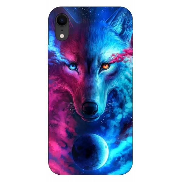 Husa Silicon Soft Upzz Print Compatibila Cu iPhone Xr Model Wolf imagine itelmobile.ro 2021