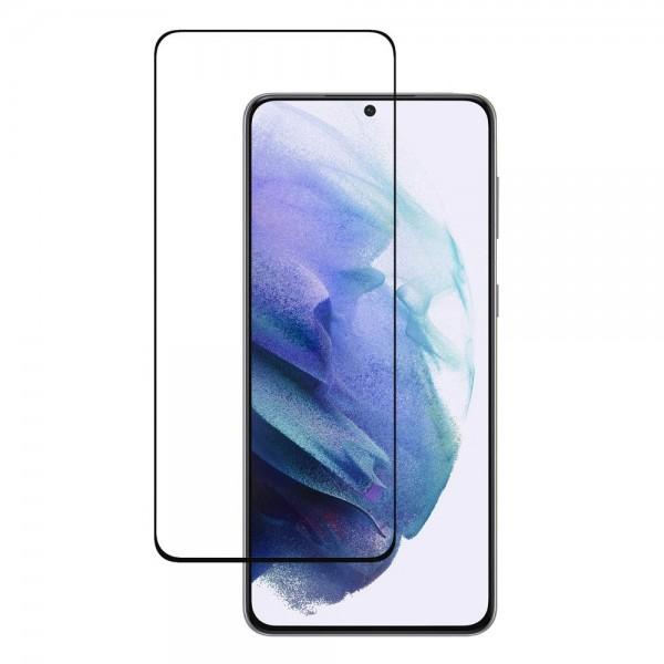 Folie Full Cover Wozinsky Case Friendly Compatibila Cu Samsung S21 Plus Transparenta Cu Rama Neagra Adeziv Pe Toata Suprafata imagine itelmobile.ro 2021