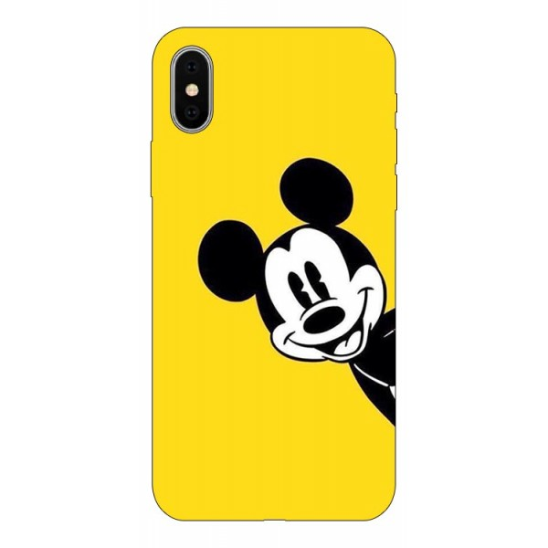 Husa Silicon Soft Upzz Print Compatibila Cu iPhone X/ iPhone Xs Model Cartoon imagine itelmobile.ro 2021