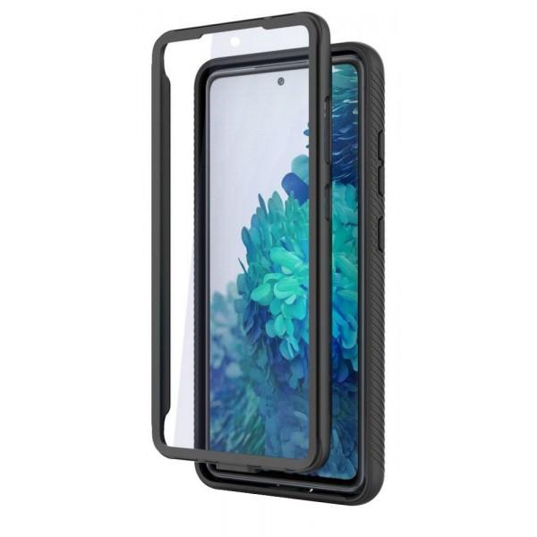Husa Premium Upzz Tech Defense 360 Compatibila Cu Samsung Galaxy S20 Fe, Negru ,protectie 360 Grade imagine itelmobile.ro 2021