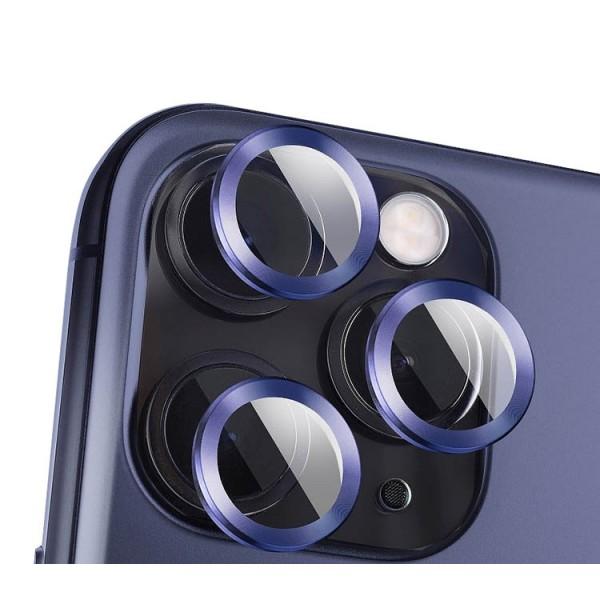 Protectie Premium Mr. Monkey Pentru Camera Din Aluminiu Si Sticla Securizata Compatibila Cu iPhone 12 Pro Max - Albastru imagine itelmobile.ro 2021