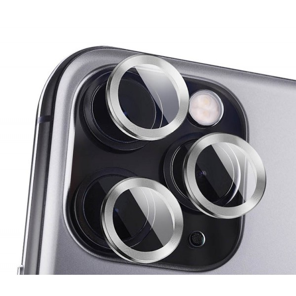 Protectie Premium Mr. Monkey Pentru Camera Din Aluminiu Si Sticla Securizata Compatibila Cu iPhone 12 Pro Max - Silver imagine itelmobile.ro 2021