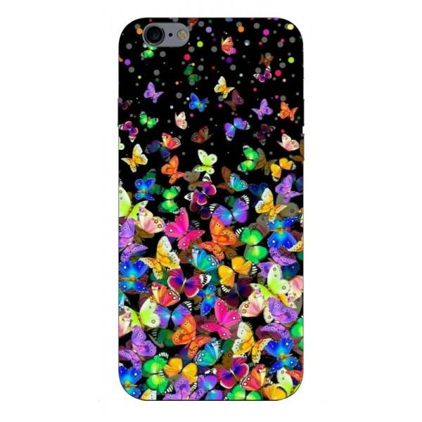 Husa Silicon Soft Upzz Print Compatibila Cu iPhone 6 Plus/ iPhone 6s Plus Model Colorature imagine itelmobile.ro 2021