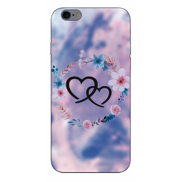 Husa Silicon Soft Upzz Print Compatibila Cu iPhone 6 Plus/ iPhone 6s Plus Model Love imagine itelmobile.ro 2021
