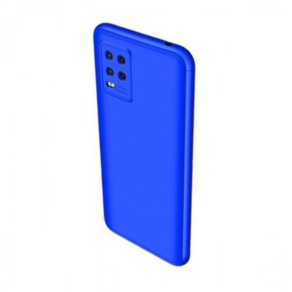 Husa 360 Grade Upzz Protection Compatibila Cu Xiaomi Mi 10 Lite - Albastru imagine itelmobile.ro 2021