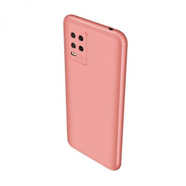 Husa 360 Grade Upzz Protection Compatibila Cu Xiaomi Mi 10 Lite - Roz imagine itelmobile.ro 2021