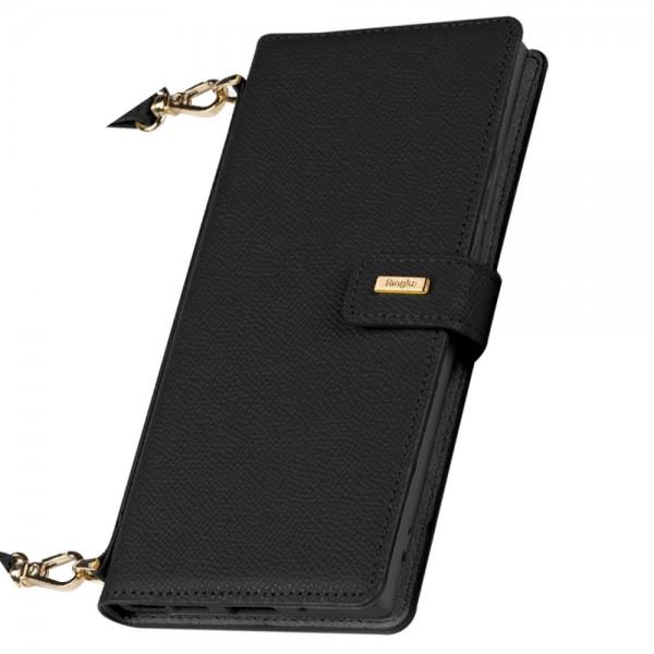 Husa Premium Tip Geanta Ringke Folio Signature Piele Naturala Compatibila Cu Samsung Galaxy Note 20 Ultra ,negru- Fs81r55 imagine itelmobile.ro 2021