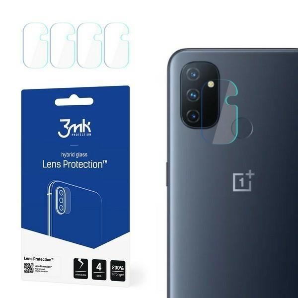 Folie Sticla Nano Glass 3mk Pentru Camera Pentru Oneplus Nord N100, Transparenta, 4 Buc In Pachet imagine itelmobile.ro 2021