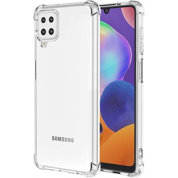 Husa Mercury Bulletproof Anti Shock Pentru Samsung Galaxy A12, Tehnologie Air Cusion, Transparenta imagine itelmobile.ro 2021