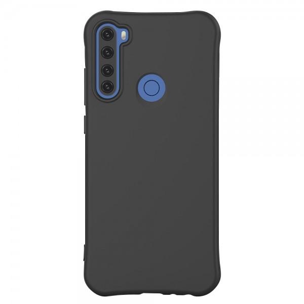 Husa Silicon Upzz Color Jelly Compatibila Cu Xiaomi Redmi Note 8t, Negru imagine itelmobile.ro 2021