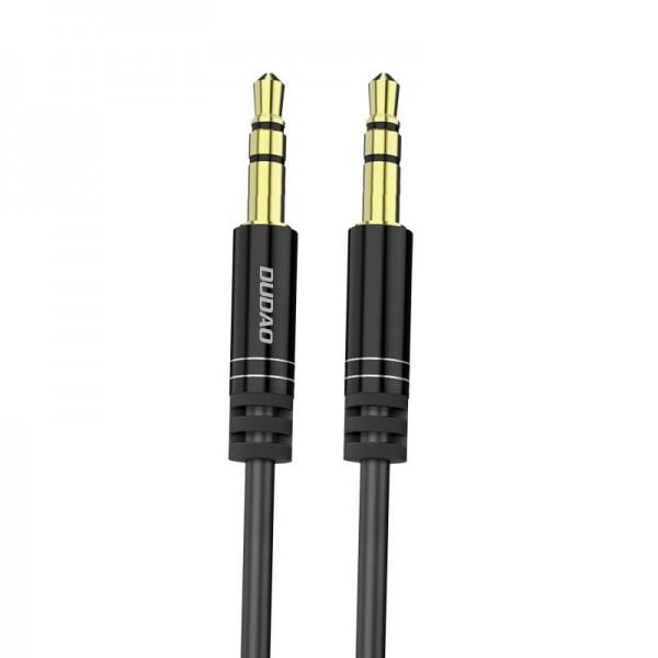 Cablu Audio Aux Jack La Jack 3.5mm Dudao Spring 170cm Lungime Negru imagine itelmobile.ro 2021