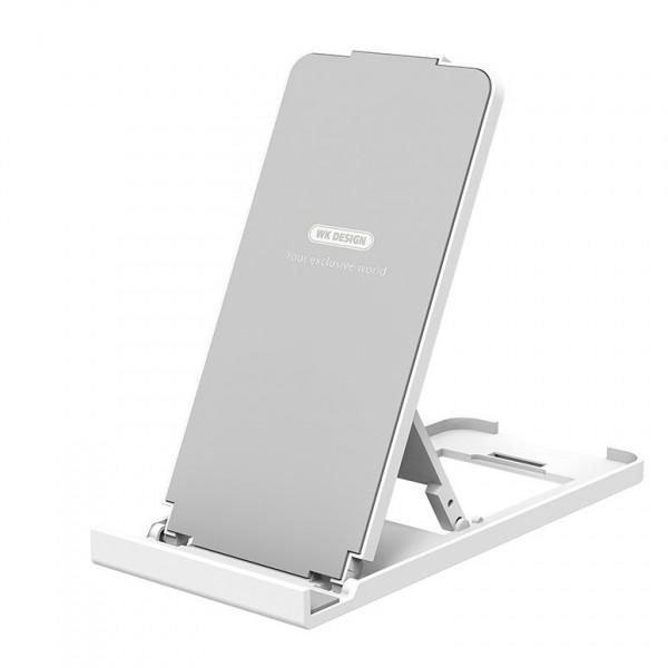 Suport Birou Wk Design Compatibil Cu Telefoane si Tablete, Alb, WA-S35 imagine itelmobile.ro 2021