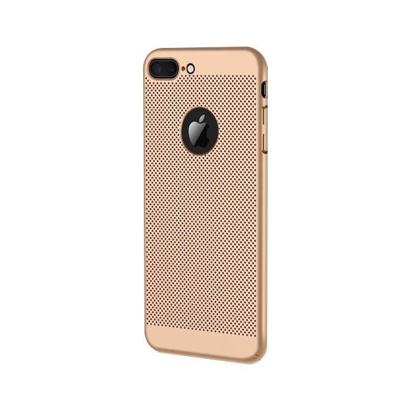 Husa Upzz Lux Hard Ultra Slim Air-up Compatibila Cu iPhone 7 Gold imagine itelmobile.ro 2021