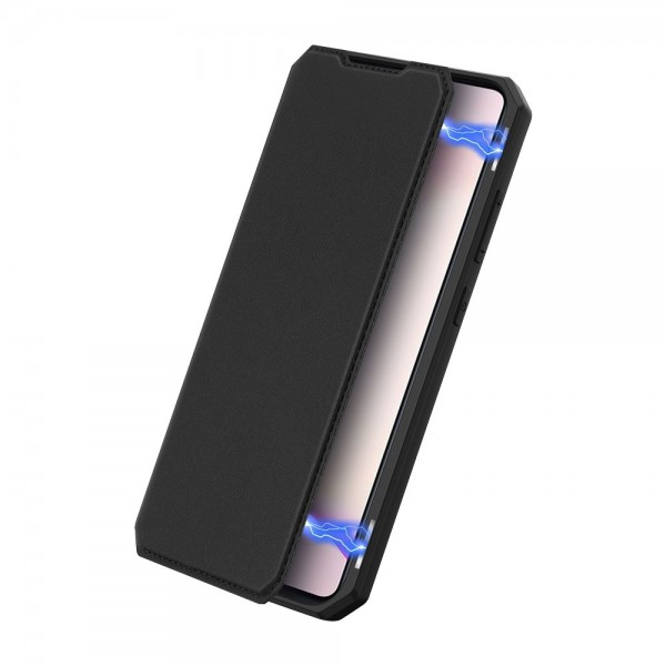 Husa Premium Duxducis Skin X Flip Cover Compatibila Cu Samsung Galaxy S10 Lite Negru imagine itelmobile.ro 2021