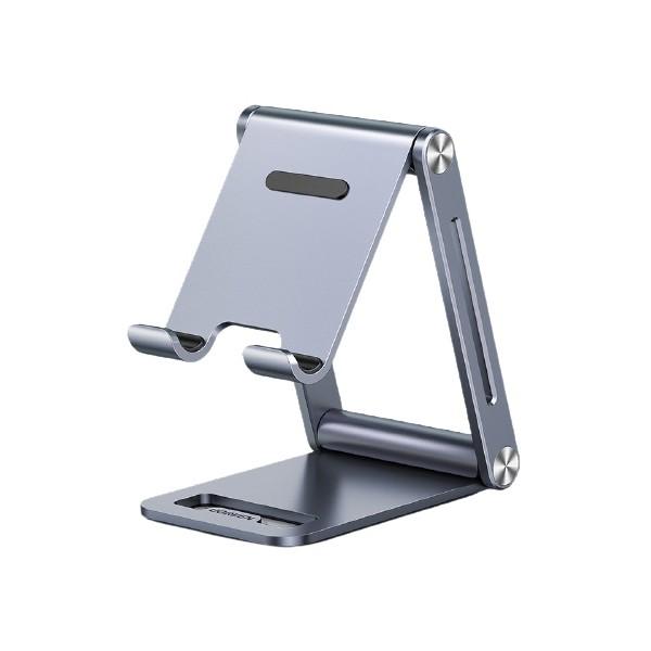 Suport Universal Premium Aluminiu Ugreen Pentru Telefoane Si Tablete, Gri - LP263 imagine itelmobile.ro 2021