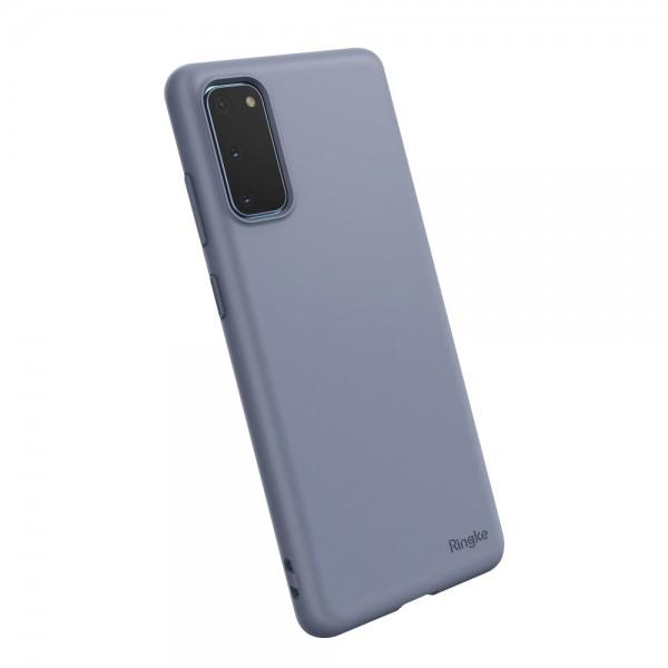 Husa Premium Ringke Air S Pentru Samsung Galaxy S20 ,slim ,silicon, Mov imagine itelmobile.ro 2021