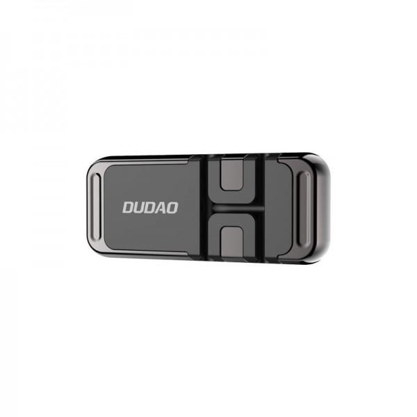 Suport Auto Universal Dudao Magnetic Pentru Bord Cu Organizator De Cabluri, Otel, Negru - F11s imagine itelmobile.ro 2021