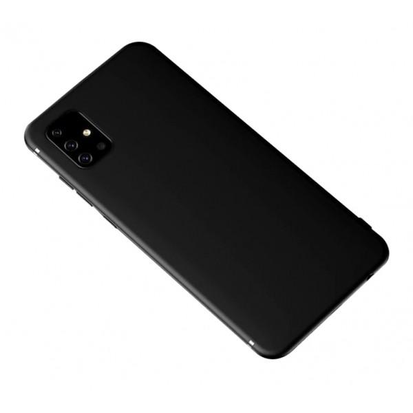 Husa Slim Silicon Upzz Pro Slim Compatibila Cu Samsung Galaxy A51 Negru imagine itelmobile.ro 2021
