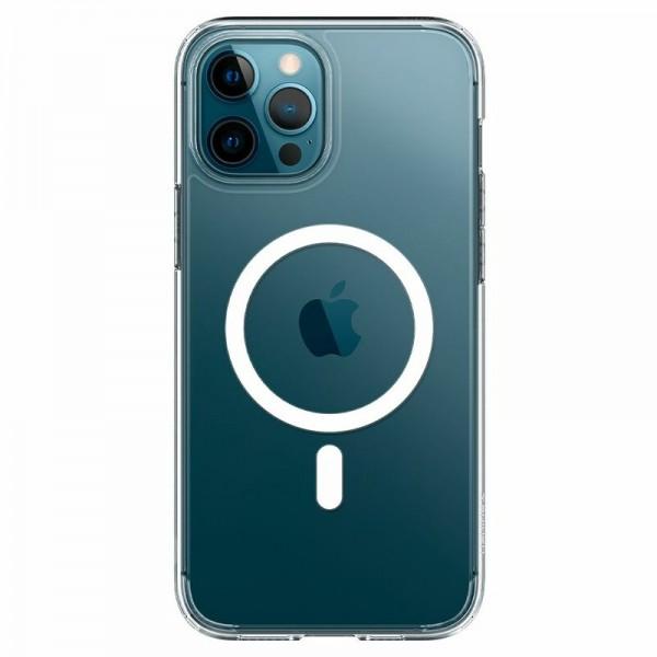 Husa Mercury Goospery MagSafe Compatibila Cu iPhone 12 Pro Max, Transparenta imagine itelmobile.ro 2021