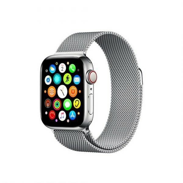 Curea Goospery Milanese Loop Compatibila Cu Apple Watch 4 / 5 / 6/ SE 44MM, Metalic Silver imagine itelmobile.ro 2021