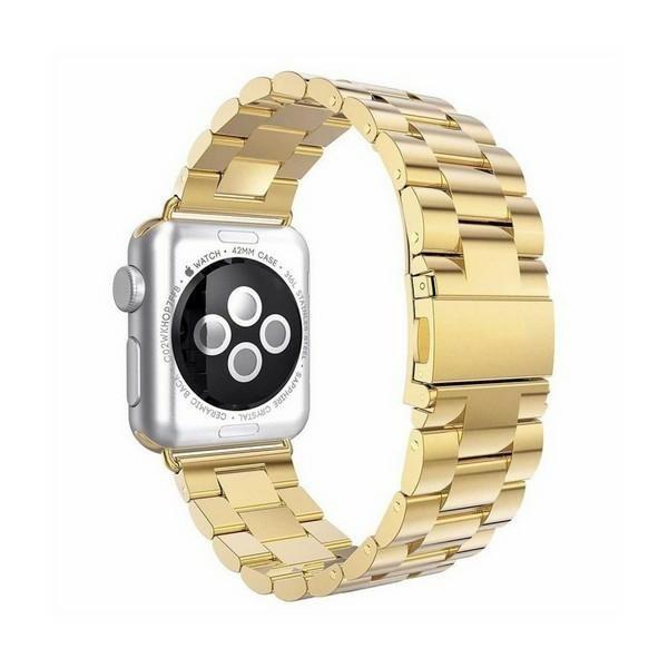 Curea Goospery Metalic Band Compatibila Cu Apple Watch 4 / 5 / 6/ SE 40MM, Gold imagine itelmobile.ro 2021