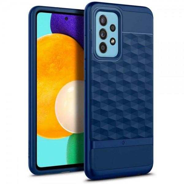 Husa Premium Caseology By Spigen Parallax Compatibila Cu Samsung Galaxy A52 / A52 5G, Albastru imagine itelmobile.ro 2021