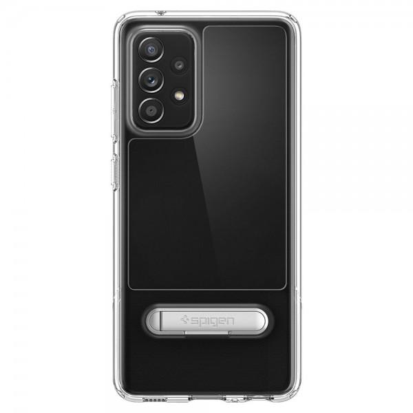 Husa Premium Spigen Slim Armor Essential S Compatibila Cu Samsung Galaxy A52 / A52 5G, Transparenta imagine itelmobile.ro 2021