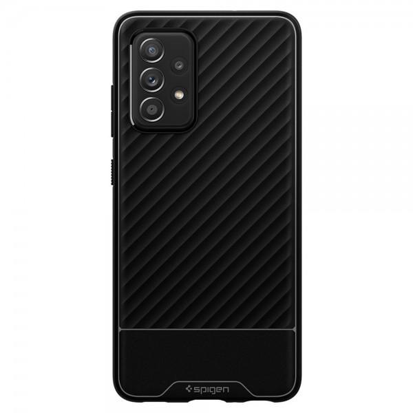 Husa Premium Spigen Core Armor Pentru Samsung Galaxy A52 / A52 5G, Silicon, Negru imagine itelmobile.ro 2021