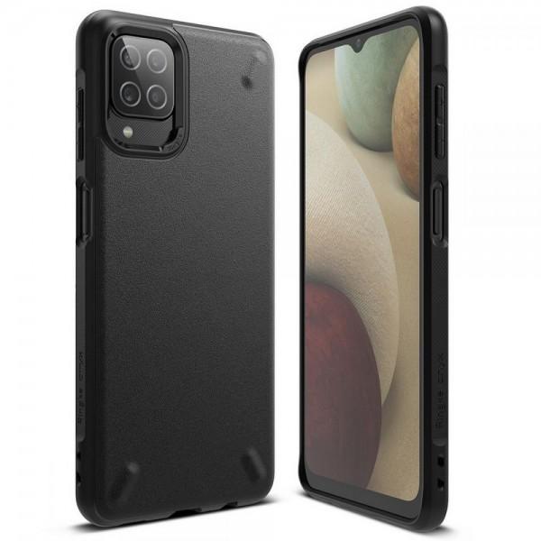 Husa Premium Ringke Onyx Compatibila Cu Samsung Galaxy A12, Negru imagine itelmobile.ro 2021