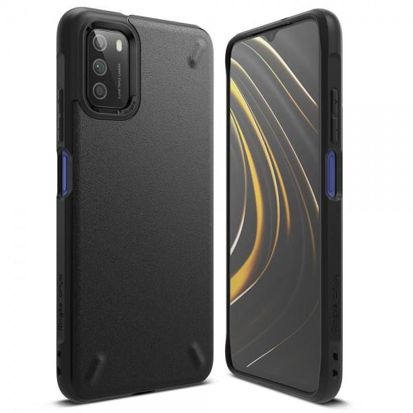 Husa Premium Ringke Onyx Compatibila Cu Xiaomi Poco M3, Negru imagine itelmobile.ro 2021