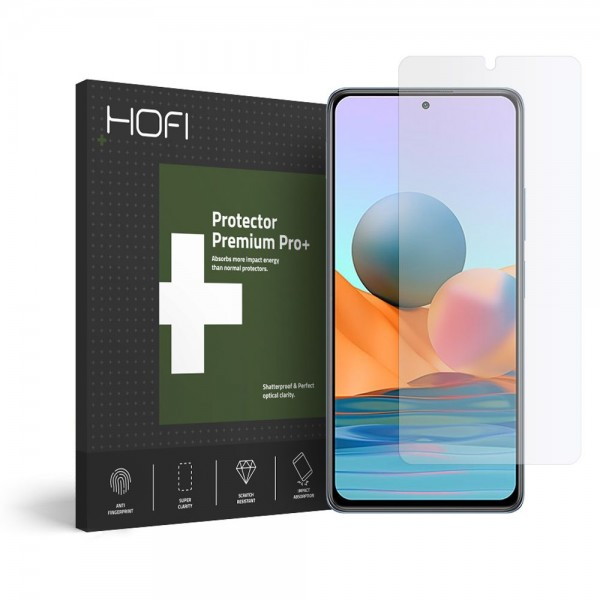 Folie Sticla Securizata Hofi Glass Pro+ Compatibila Cu Xiaomi Redmi Note 10 Pro, Transparenta imagine itelmobile.ro 2021
