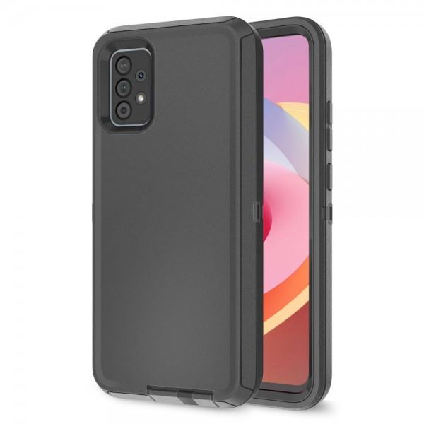 Husa Protectie Upzz Tech Adventure Compatibila Cu Samsung Galaxy A52 / A52 5G, Negru imagine itelmobile.ro 2021