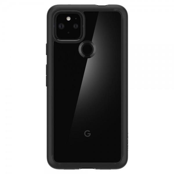 Husa Premium Originala Spigen Ultra Hybrid Pentru Google Pixel 4a 5G, Transparenta Cu Margine Neagra imagine itelmobile.ro 2021