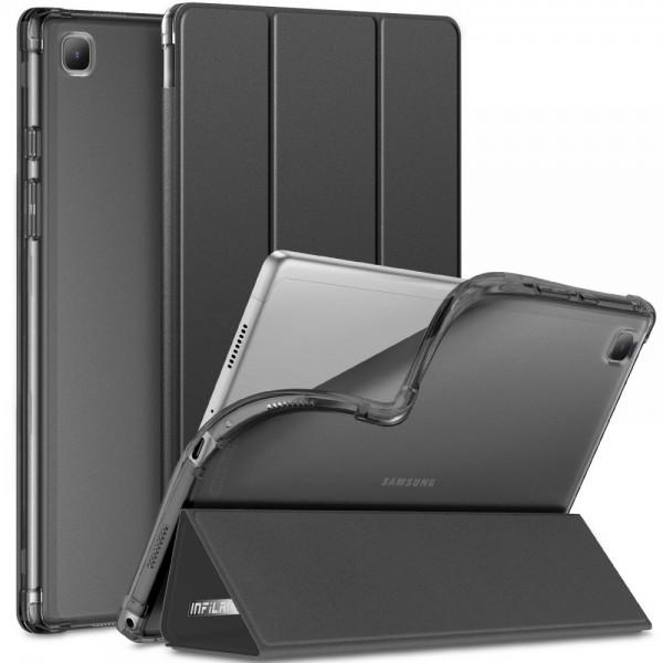 Husa Tableta Upzz Infiland Smart Stand Pentru Samsung Galaxy Tab A7 10,4inch , T500 / T505, Negru imagine itelmobile.ro 2021