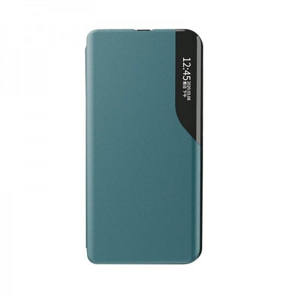 Husa Tip Carte Upzz Eco Book Compatibila Cu Samsung Galax A02s, Piele Ecologica - Verde imagine itelmobile.ro 2021