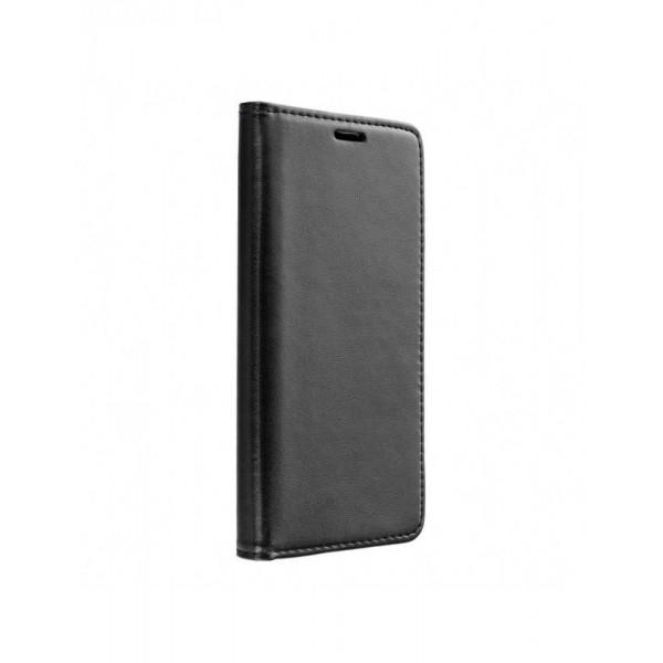 Husa Flip Carte Magnet Book Compatibila Cu Samsung Galaxy A12, Negru imagine itelmobile.ro 2021