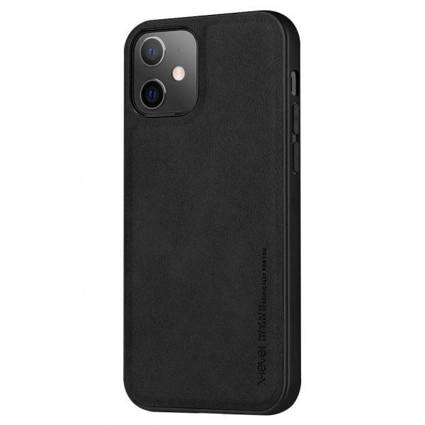 Husa Slim Premium X-level Earl 3 Series Compatibila cu Iphone 11, Negru imagine itelmobile.ro 2021