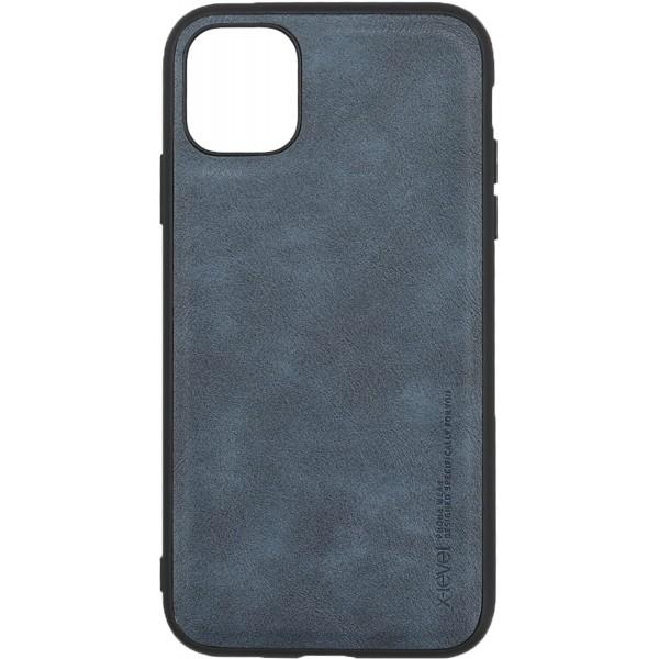 Husa Slim Premium X-level Earl 3 Series Compatibila cu Iphone 11, Dark Blue imagine itelmobile.ro 2021
