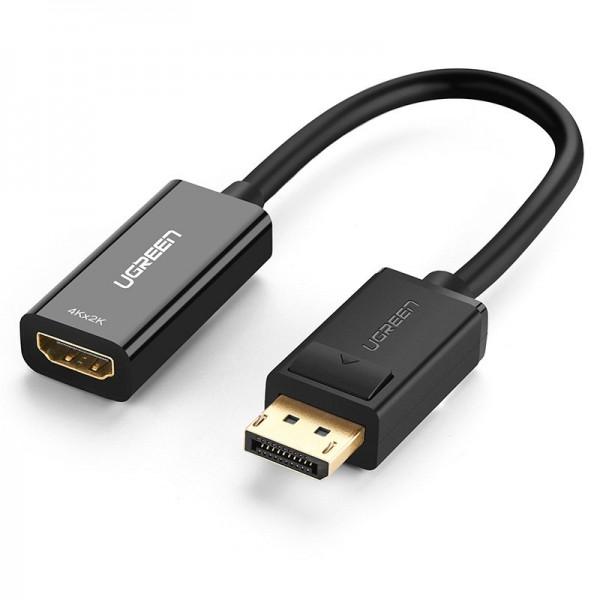 Cablu Adaptor Ugreen Hdmi - DisplayPort, 4K 30Hz 12bit, Negru - 40363 imagine itelmobile.ro 2021