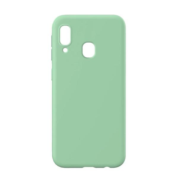 Husa Slim Premium X-level Thin Membrane Compatibila cu Samsung Galaxy A20e, Verde imagine itelmobile.ro 2021
