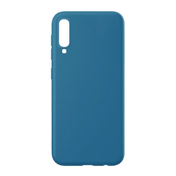 Husa Slim Premium X-level Thin Membrane Compatibila cu Samsung Galaxy A70, Albastru imagine itelmobile.ro 2021