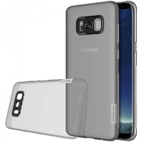 Husa Slim Samsung S8 Plus G955f Nillkin Nature Fumurie imagine itelmobile.ro 2021