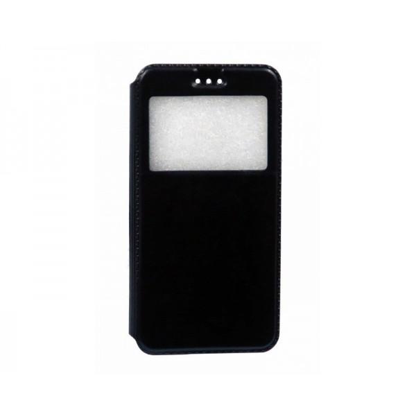 Husa Flip Tip Carte Upzz Vodafone Smart Ultra 7 Neagra imagine itelmobile.ro 2021
